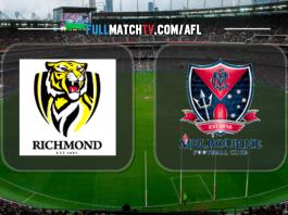 Richmond Tigers vs Melbourne Demons