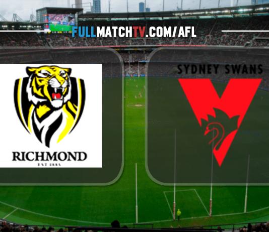 Richmond Tigers vs Sydney Swans