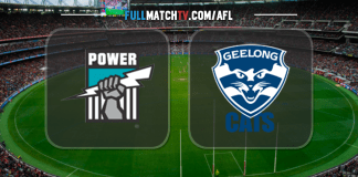 Port Adelaide Power vs Geelong Cats