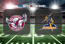 Melbourne Storm vs Manly Warringah Sea Eagles