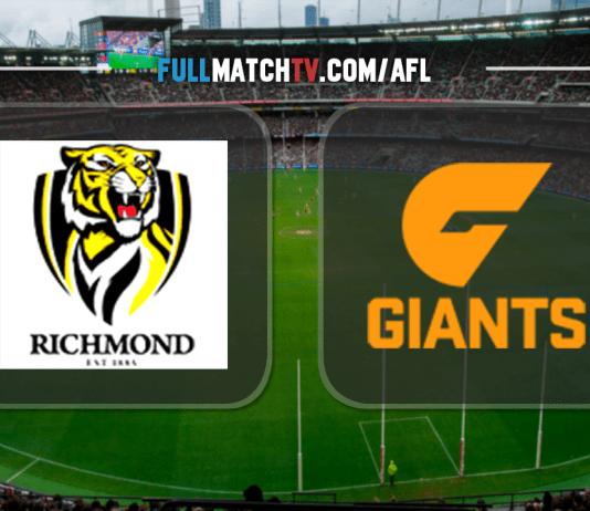 Richmond Tigers vs GWS Giants