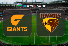 GWS Giants vs Hawthorn Hawks