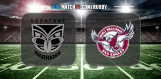 New Zealand Warriors vs Manly Warringah Sea Eagles