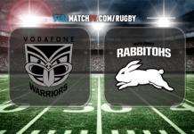 New Zealand Warriors vs South Sydney Rabbitohs