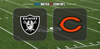 Oakland Raiders vs Chicago Bears