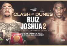 Andy Ruiz Jr. vs Anthony Joshua II