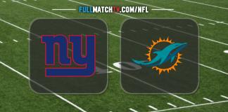 New York Giants vs Miami Dolphins