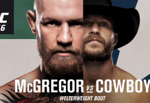 UFC 246: McGregor vs Cerrone