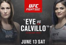 UFC Fight Night Eye vs Calvillo