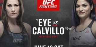 UFC Fight Night Eye vs Calvillo