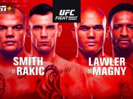 UFC Fight Night: Smith Vs Rakic