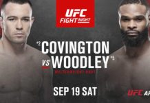 UFC Fight Night Covington vs Woodley