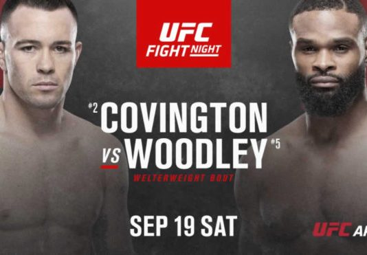 UFC Fight Night Covington vs Woodley