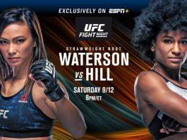 UFC Fight Night Waterson vs Hill