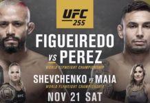UFC 255 Figueiredo vs Perez