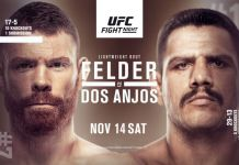 UFC Fight Night Felder vs dos Anjos