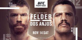 UFC Fight Night Felder vs dos Anjos
