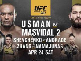 UFC 261 Usman vs Masvidal