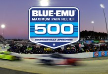 NASCAR Blue-Emu Maximum Pain Relief 500