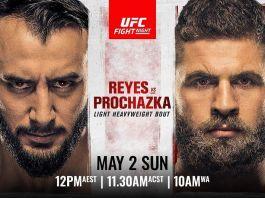 Reyes vs Prochazka