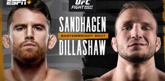 UFC Sandhagen vs Dillashaw