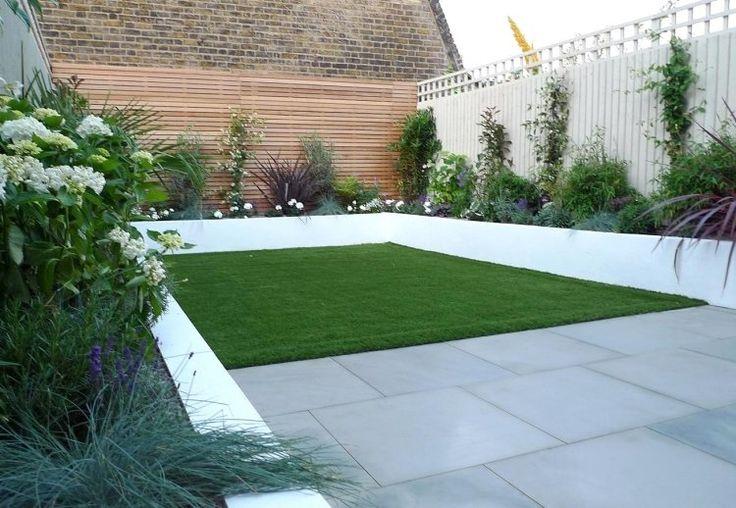 amenager jardin rectangulaire idee