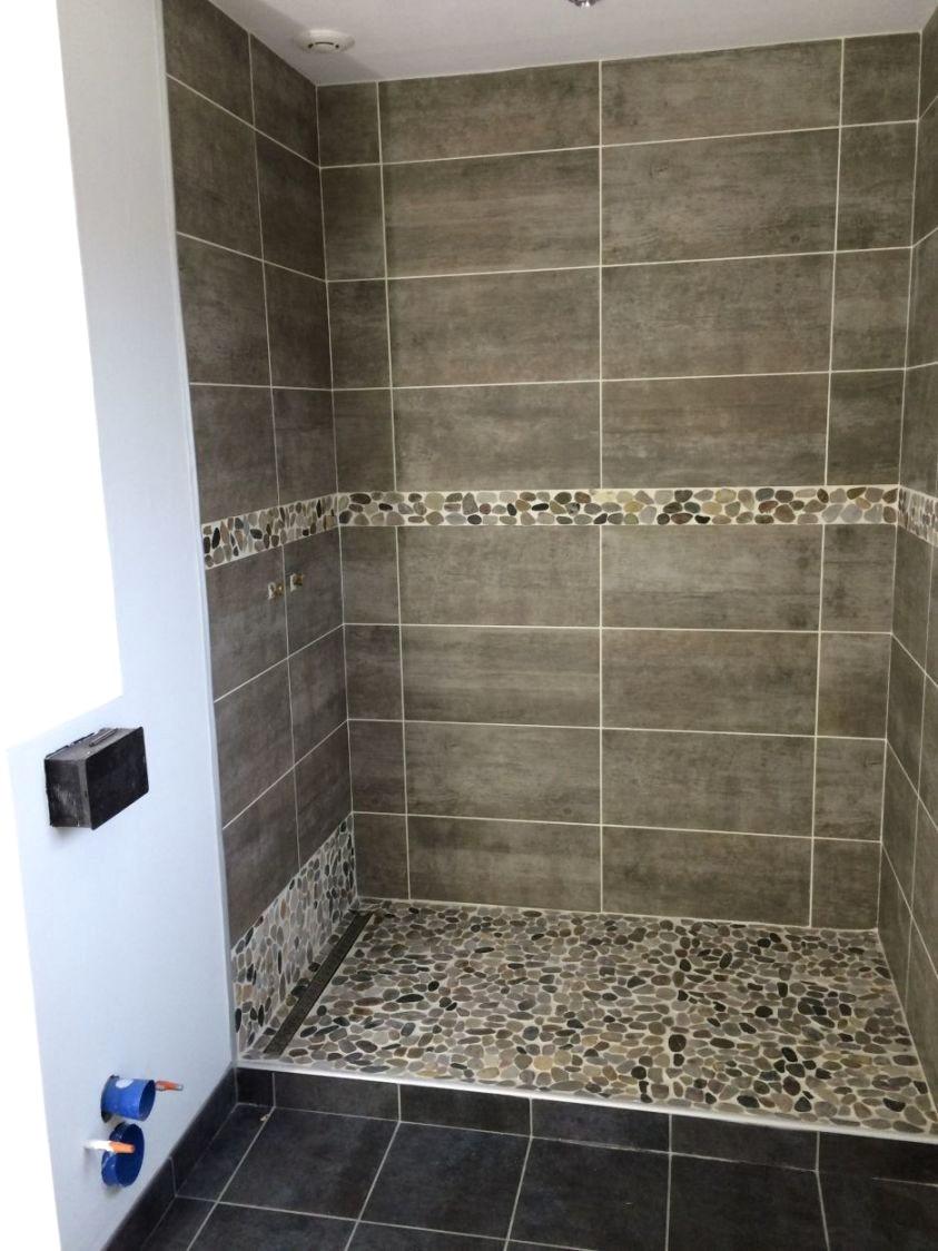 idee salle de bain moderne douche italienne
