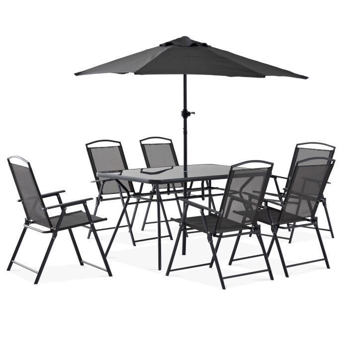 table chaise jardin pas cher ensemble