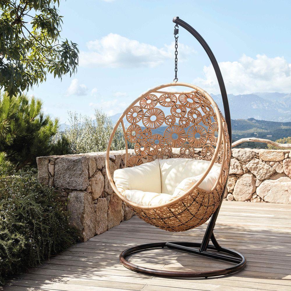 mobilier de jardin fauteuil suspendu