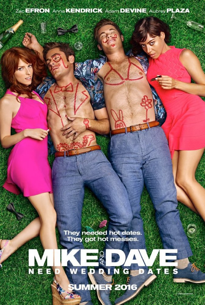 Mike and Dave Need Wedding Dates 2016 Movie Free Download