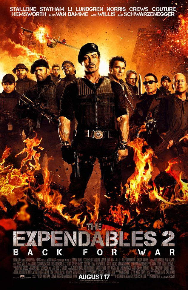 The Expendables 2 (2012) Hindi Dubbed Movie Free Download