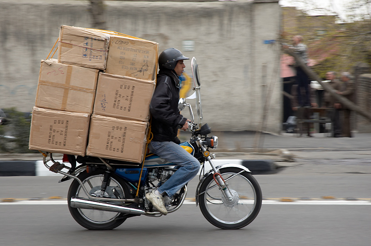 Moving! Photo by Kamyar Adl in Tehran, on Flicker as KamShots.