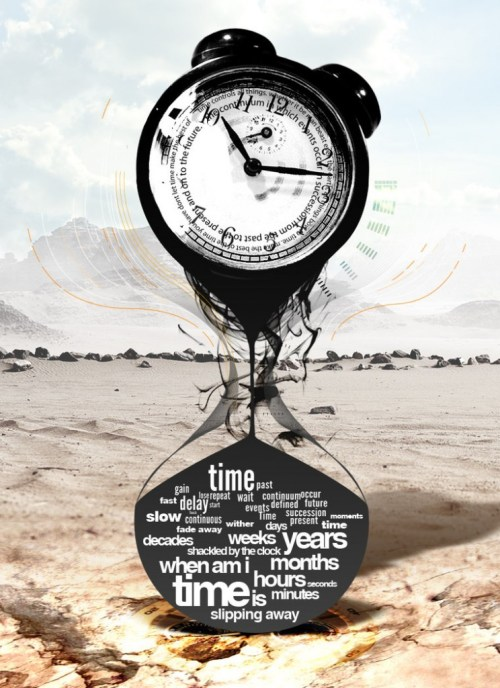 """By the DeviantArtist """"Scrutiny,"""" Time is slipping away."""