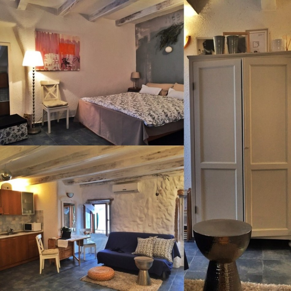 I stayed in this horrible self-contained apartment in Croatia's amazing Venetian-syle waterfront town Rovinj, with no roommates for a $275 CDN for 5 nights in the off-season. Had I stayed a month, I could've negotiated a better rate -- I always do.