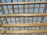 Looklng Through the Trusses