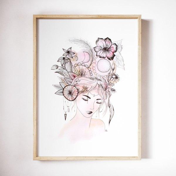 illustration aquarelle Nahiri