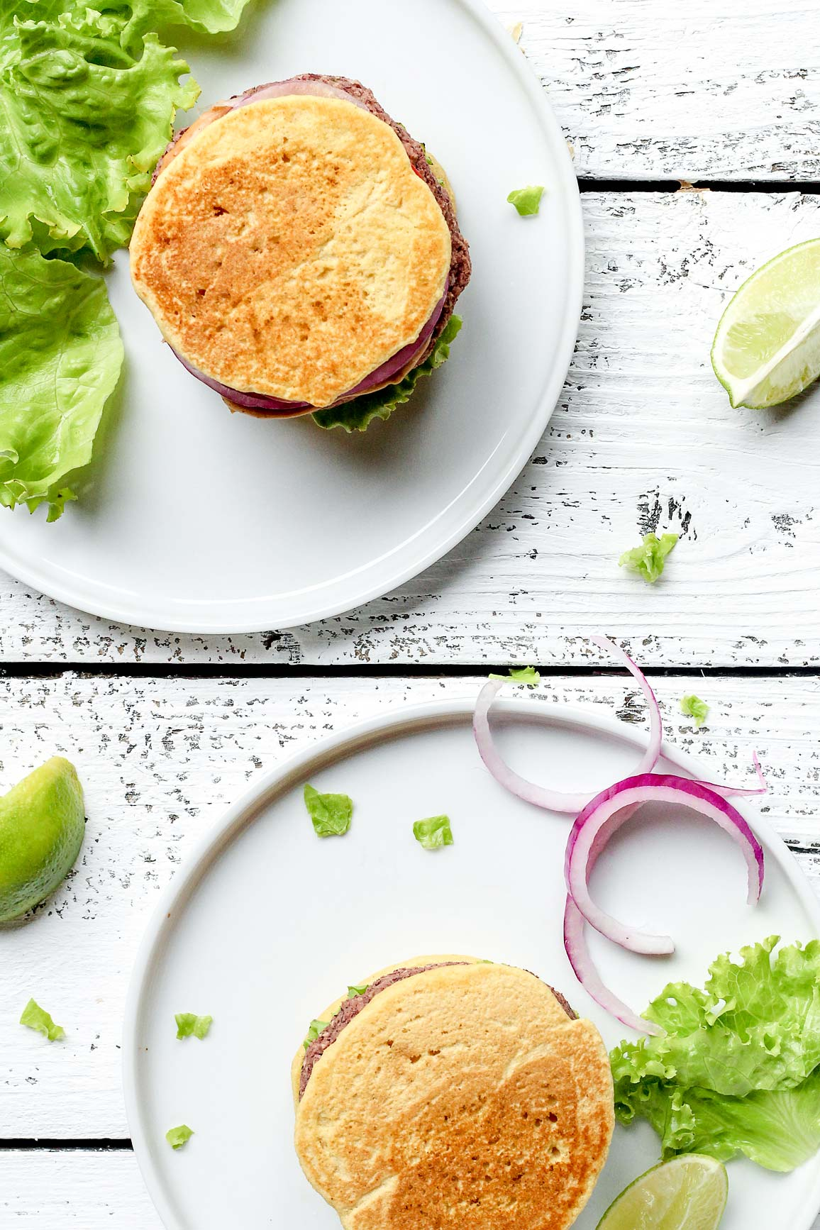 Vegan Chickpea Flour Veggie Burgers