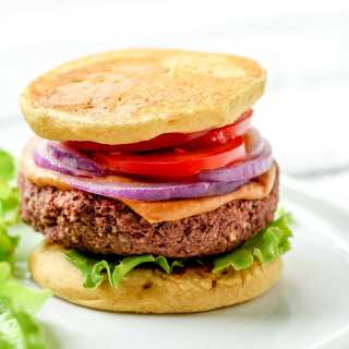 Chickpea Red Bean Burgers