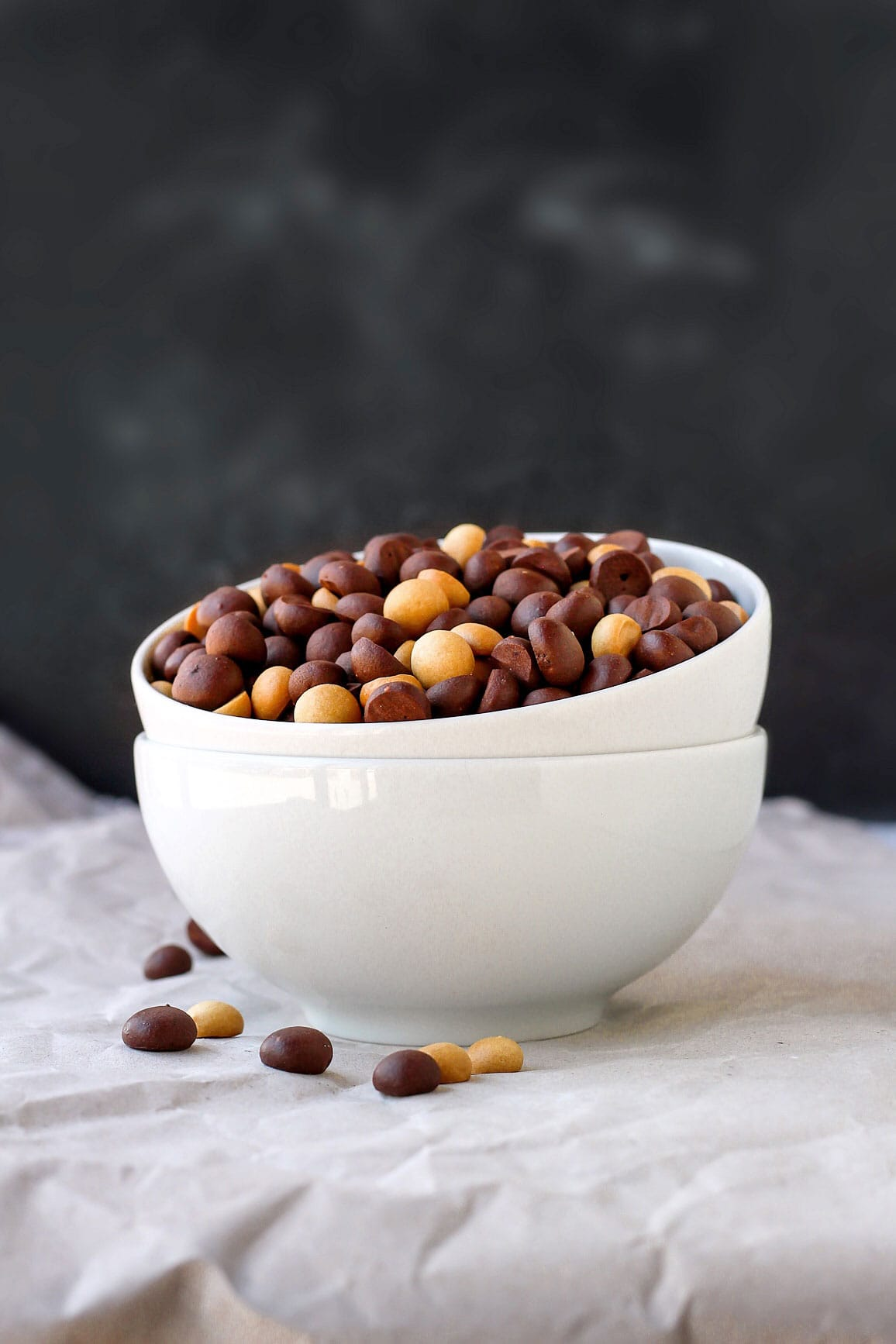 Homemade Vegan Chocolate Peanut Butter Cereals