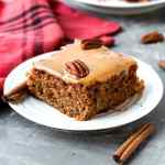 Vegan Moist Chai Applesauce Cake