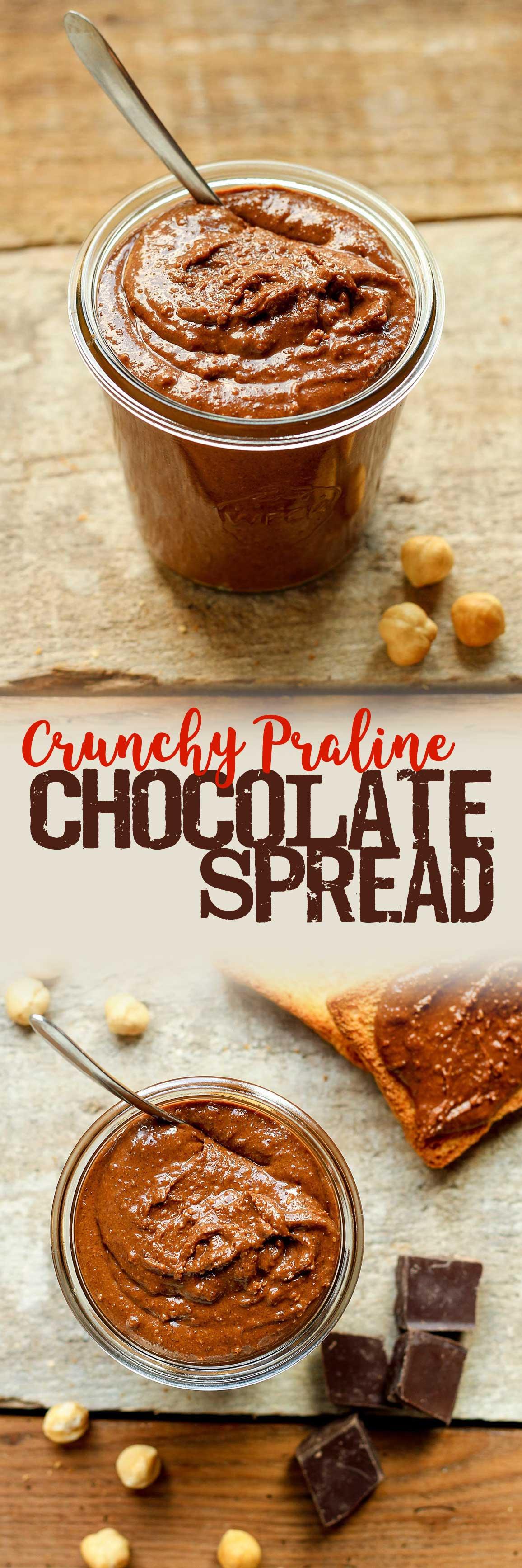 Crunchy Praline Chocolate Spread