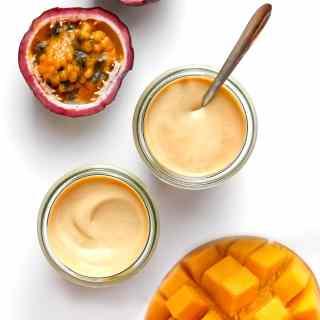 Mango & Passion Fruit Coconut Yogurt