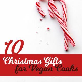 10 Christmas Gifts for Vegan Cooks