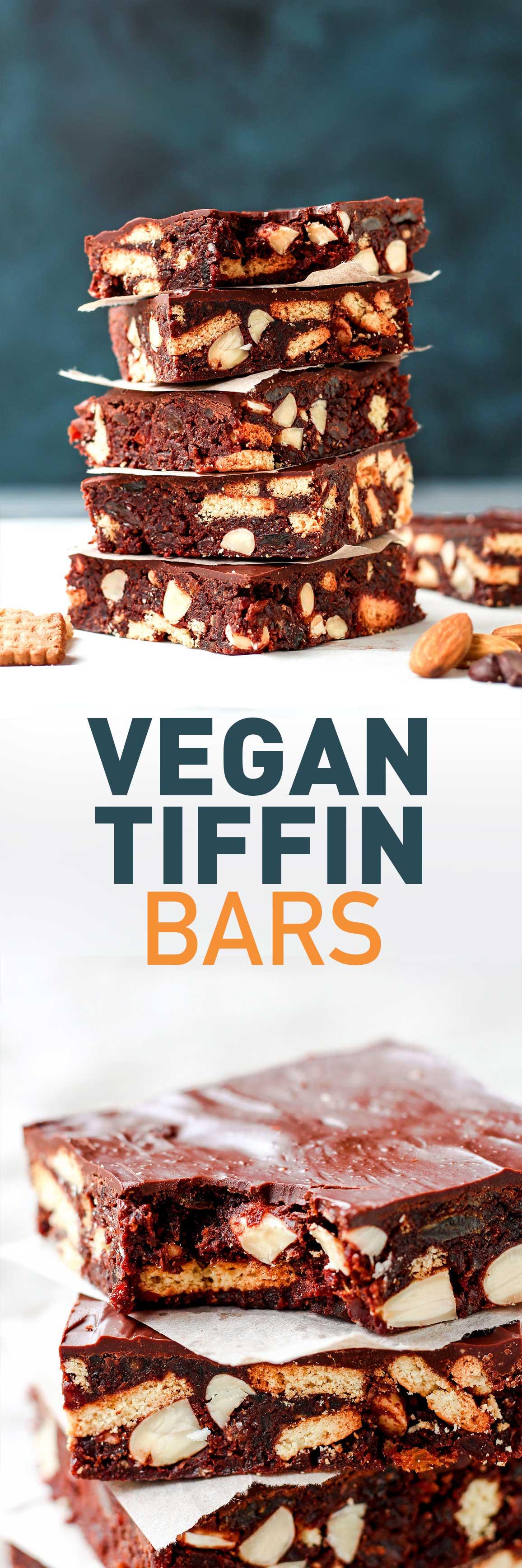 Vegan Tiffin Bars