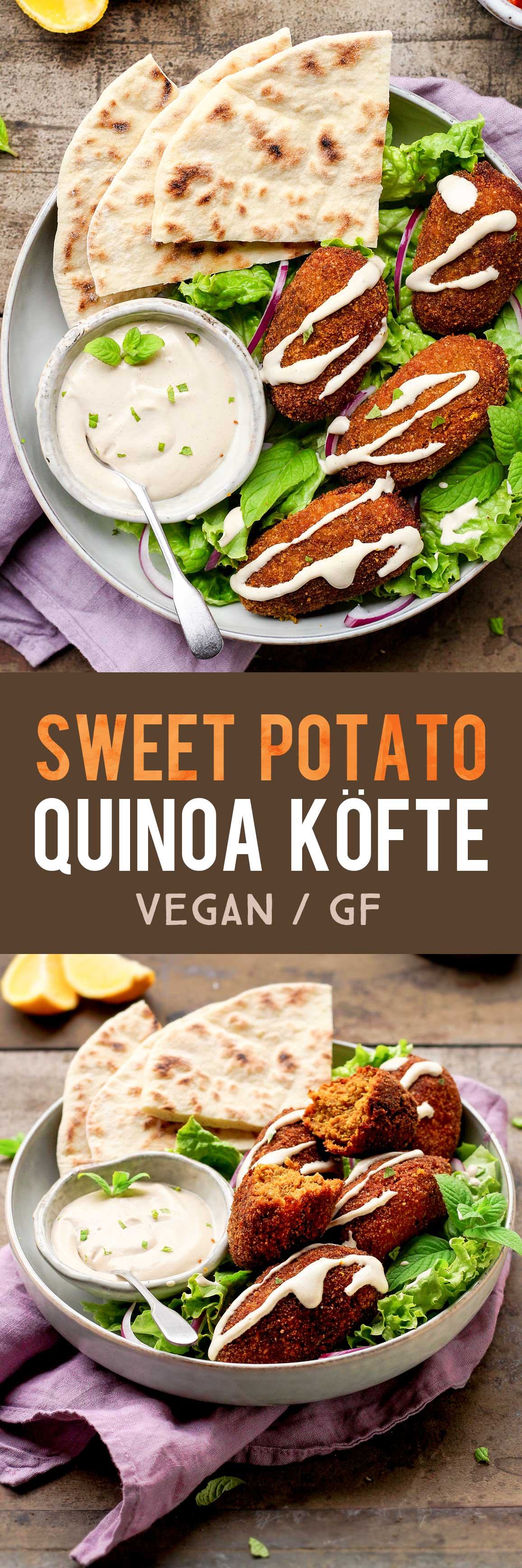 Sweet Potato Quinoa Köfte