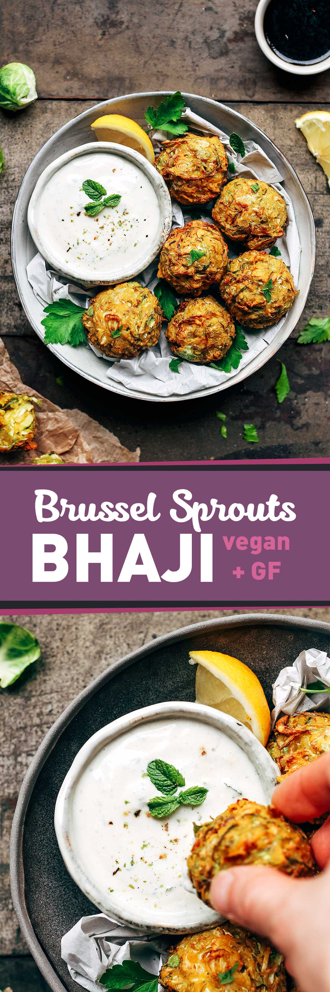 Brussel Sprouts Bhaji