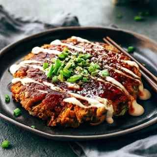 The Best Vegan Okonomiyaki