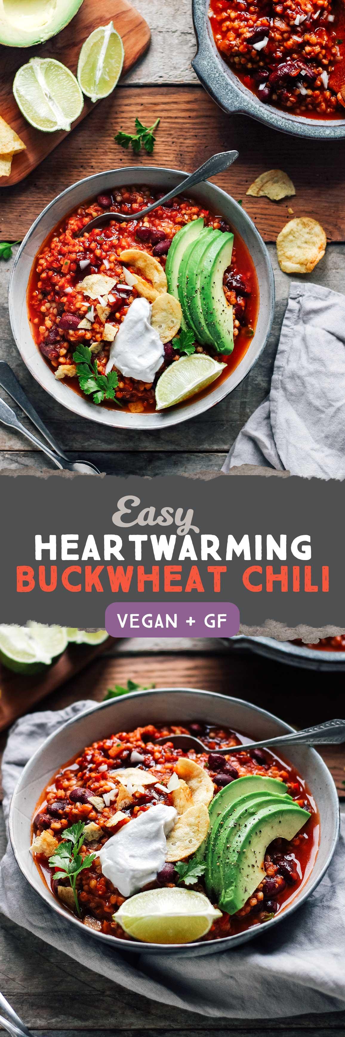 Easy Heartwarming Buckwheat Chili