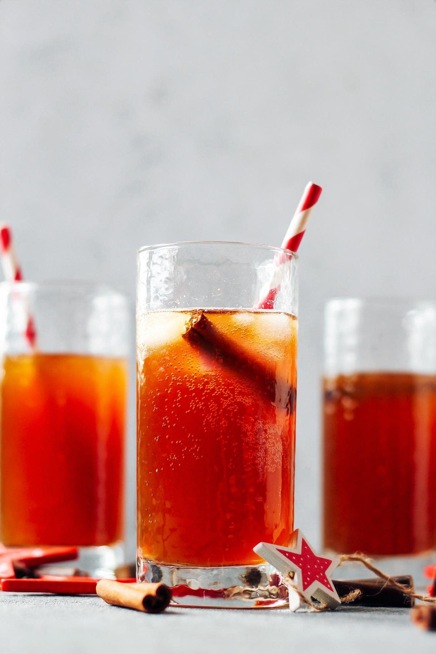Festive Christmas Soda