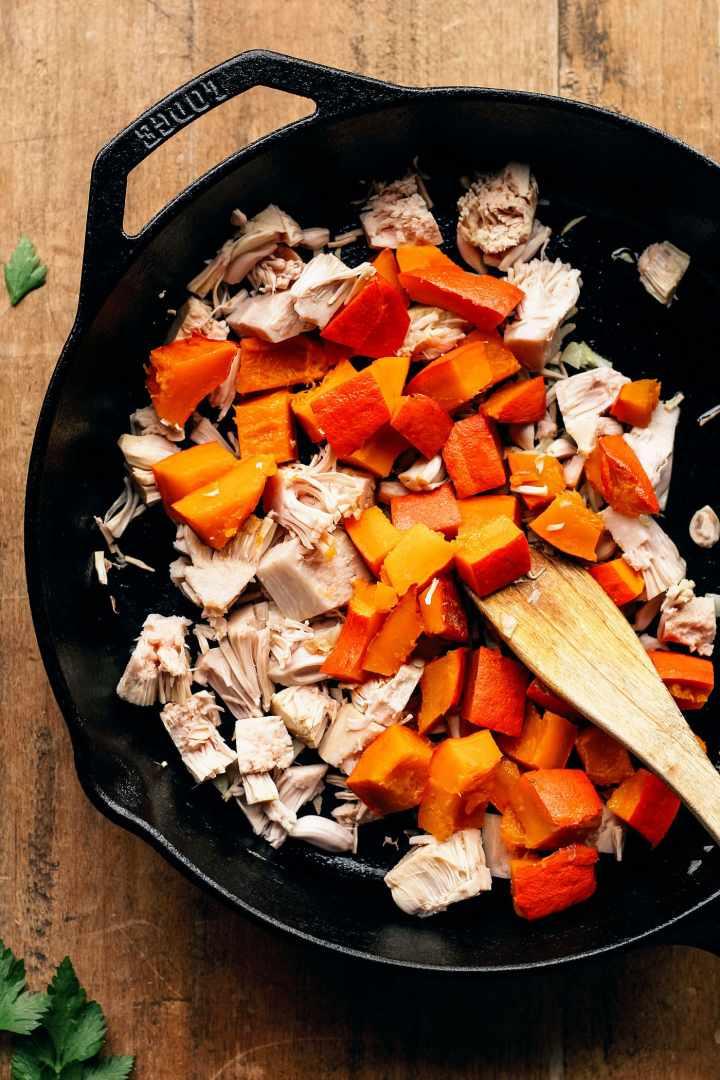 Pumpkin Jackfruit Curry